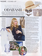 Melissa Odabash about Dr Rakus SPF50 Sun Protection in Madame, June 2016