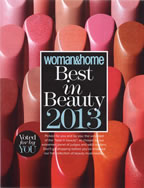 Woman And Home Best in Beauty 2013