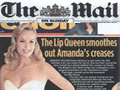 Mail on Sunday-Amanda Holden