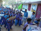 Thalikkal children rally
